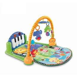 $enCountryForm.capitalKeyWord Australia - Baby Mat Toy Kick and Play Piano Pedal Gym Toys Large Babies Game Pad Education Gifts For Infant