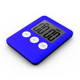 $enCountryForm.capitalKeyWord Australia - 10 Colors New Thin LCD Digital Screen Kitchen Timer Square Cooking Count Up Countdown Alarm Magnet Clock Temporizador