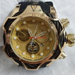 $enCountryForm.capitalKeyWord Australia - 2019 3A INVICTA luxury gold watches dial men's sport quartz timepiece automatic date rubber men's gift wristwatch