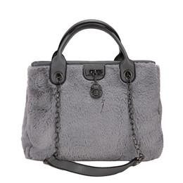 $enCountryForm.capitalKeyWord Australia - good quality Fashion Ladies Designer Bucket Handbag Winter 2019 Women Chain Crossbody Large Capacity Tote Bags Faux Fur Bag Sac