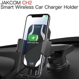 Wholesale mobile phone car holder sales for sale - Group buy JAKCOM CH2 Smart Wireless Car Charger Mount Holder Hot Sale in Cell Phone Mounts Holders as desktop mobile ring