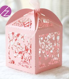 Pearl flower favor box online shopping - 50PCS Beautiful Flower Candy Boxes Favor Holders Apply To Elegance Marriage Engagements Ceremony Birthday Party Valentine s Day