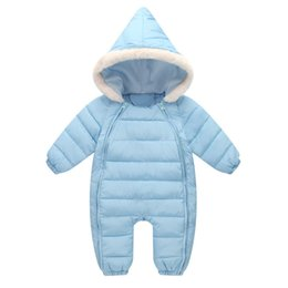 fb6138806f2 good quality Baby Rompers Winter Thick Warm Clothing For Newborn Baby  Rompers Jumpsuit Outfits Infant Hooded Fur Velvet Snowsuit