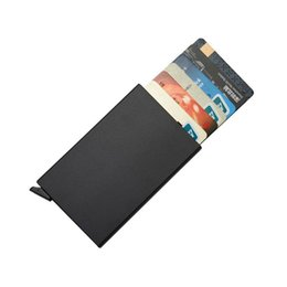 $enCountryForm.capitalKeyWord UK - designer card holder Simple Metal Aluminum Case Men's Alloy Card Holder Card Protector Drop Shipping Good Quality