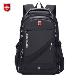 $enCountryForm.capitalKeyWord Australia - Oxford Swiss 17 Inch Laptop Backpack Men USB Charging Waterproof Travel Backpack Women Rucksack Male Vintage School Bag mochilaMX190905