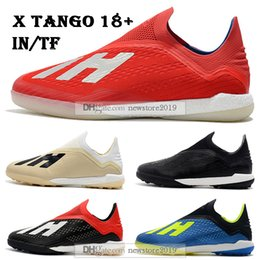 $enCountryForm.capitalKeyWord Australia - Mens High Tops Football Boots X Tango 18+ IN TF Soccer Shoes X 18+ Speedmesh X18 Speed Mesh Indoor Turf Soccer Cleats