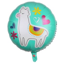 $enCountryForm.capitalKeyWord UK - 1PC 18inch Alpaca Llama Cactus Sheep Helium Foil Balloons for Wedding birthday party decorations kids toy Supplies