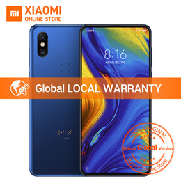 "wireless cameras Australia - Xiaomi Mi MIX 3 6GB 128GB Snapdragon 845 Global Version 6.39"" Mobile Phone 24MP 2MP Dual Front Camera Wireless Charging NFC"