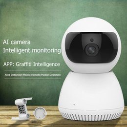 wireless cameras Australia - AI Two Way Audio Webcams Wireless WIFI Web Camera HD 1080P 2MP Night Vision Home Security CCTV Network Webcam US Dropshipping