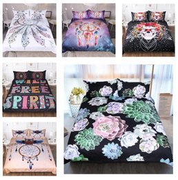 luxury beds 2019 - 3D Bedding Set Bohemian Queen Mandala King Size Bedding Set Twin Size Luxury Unicorn Bed Quilt Cover Duvet Cover Sheets