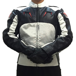 $enCountryForm.capitalKeyWord UK - Motorcycle Jacket Motorsports Motocross PU Oxfrod Racing Jackets With Protection Grey