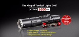 flashlight lumen Australia - KLARUS XT2CR Rechargeable Flashlight CREE XPH35 HI D4 LED max 1600 lumen