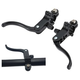 Gear For Mtb Australia - 1 Pair For Fixed Cog Road Bike MTB Accessories CNC Aluminium Alloy Break Handle Bar Gear