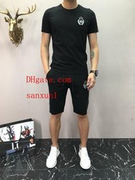 tracksuit summer men Australia - mens t shirts 2019 new summer Casual soccer tracksuit football joggers chandal futbol training suit mens brand tracksuits men s clothing 14