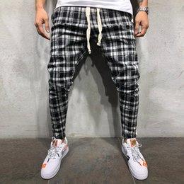 $enCountryForm.capitalKeyWord Australia - Joggers Pants Men 2019 Fashion Lattice Patchwork Men Pants Fitness Sportswear Sweatpants Male Casual Leggings Trousers