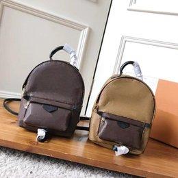 $enCountryForm.capitalKeyWord Australia - top quality designer girl Palm Springs Backpack shoulder handbag mini package messenger bag mobile phone purse real genuine leather 41562