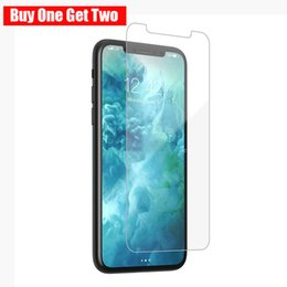 Buy Glasses Australia - Buy One Get Two Tempered Glass For iPhone XS MAX XR X 6 7 8 Plus Screen Protectors 9H Hard Anti Scratch