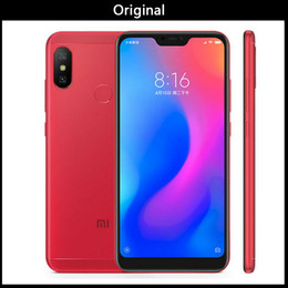 "xiaomi gps NZ - New Original Xiaomi Redmi 6 Pro Mobile Phone 4GB RAM 32 64GBGB ROM Snapdragon 625 Octa Core 5.84"" 19:9 Full Screen Dual AI Camera 4000mAh"