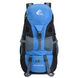 Big Camping Backpacks Australia - New Fashion Style Men's and Women's Sport Travel Mountaineering Pack 50L Capacity Waterproof Outdoor Big Backpacks Hikers Camping Backpacks