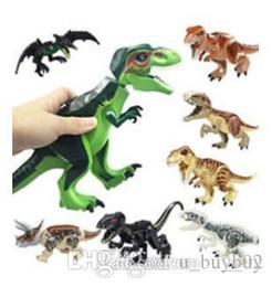 $enCountryForm.capitalKeyWord Australia - Dinosaur Building Blocks 3D Assembly ABS Plastic Dunosaur Miniature Action Figures Jurassic Park The Dinosaur World For Kids
