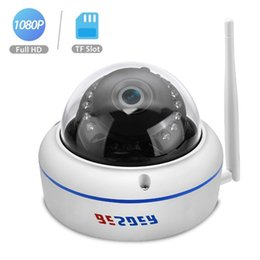 Cmos Vandal Proof Camera Australia - BESDER Wireless 2MP IP Camera WiFi Full HD 1080P 720P Home Security Dome Camera Vandal-proof 32G TF Card Outdoor Camera Yoosee