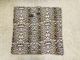 $enCountryForm.capitalKeyWord Australia - Leopard print Newborn blanket square Baby Quilts warm Infant wrap high quality
