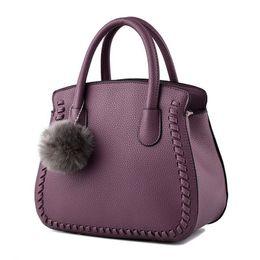 Venta al por mayor de Europa y América Marca B1075 Bolso de Las Mujeres de Moda Bolso Mensajero Remache Solo Bolso de Hombro de Alta Calidad Femenina Bag020
