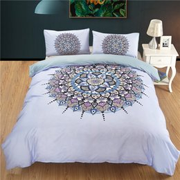 7a900accc30b Modern geoMetric bedding sets online shopping - Bohemian beddings sets  queen size India blue Mandala duvet
