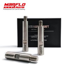 $enCountryForm.capitalKeyWord Australia - MARFLO Stainless Steel M14 Rotary Polisher Extension Shaft for Car Care Polishing Accessories Tools Auto Detailing