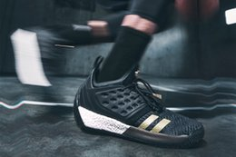 784940e1b52 Harden Vol. 2 Imma Be A Star Mens Motorcycle Boots Harden Vol. 2 black gold  Cheap for us 7-11 come with box