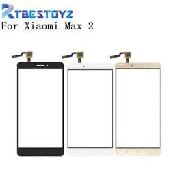 $enCountryForm.capitalKeyWord Australia - RTBESTOYZ 6.44'' Touch Glass For Xiaomi Mi Max 2 Touch Screen Glass Digitizer Panel Front For Xiaomi Max 2 Lens Sensor