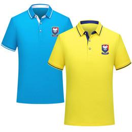 $enCountryForm.capitalKeyWord Australia - 2019 Luxury short-sleeve T-shirt spring fashion Polo men's wear drt-sleeved Letters Print Running Active Training Clothing Size S-3XL