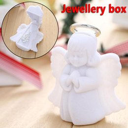 $enCountryForm.capitalKeyWord Canada - Luxury Exquisite Beautiful Angel Velvet Jewelry Display Box Gift Container Case