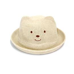 Discount girls cloche hats - Smiley hat outdoor sun protection straw hat children flip visor men and women baby sun hat fashion shade