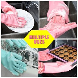 $enCountryForm.capitalKeyWord Canada - Magic Silicone Dish Washing Gloves Eco-Friendly Scrubber Cleaning Dishwashing Glove Household Tools for Cleaning Car Pet Brush