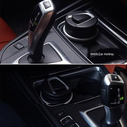 ashtray for wholesale Canada - Auto Car Ashtray LED Cigarette Smoke Automotive Multifunction Durable For F-Best