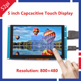 touch screen monitor free shipping Australia - 52Pi Ship from CN US! Free Driver 5 inch 800*480 Display Capacitive Touch Screen Monitor for Raspberry Pi PC Windows Plug & Play