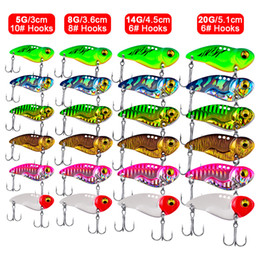 $enCountryForm.capitalKeyWord Australia - 6pcs Set 5g 8g 14g 20g Model Metal VIB Fishing Lures Crankbait Sinking Hard Bait Bass Fishing Tackle