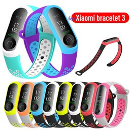 $enCountryForm.capitalKeyWord Australia - Silicone Strap for Mi Band 3 4 Pedometers Bracelet Strap for Xiaomi Band 4 Replacement Running Fitness Sports Accessories