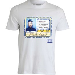 food t shirts Australia - ODB Album Cover Ol Dirty Bastard Ticket For Food Stamps men's t shirt white top Round Style Classic Quality High tshirt