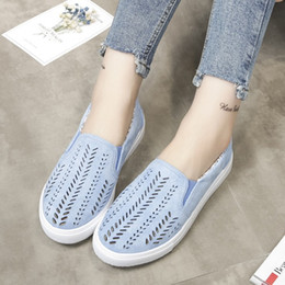 Original brand shOes cheap online shopping - 2019 Cheap Original Classic Brand Women Canvas Leather Espadrilles Sneakers Pink blue Designer Shoes Fashion Casual Shoes