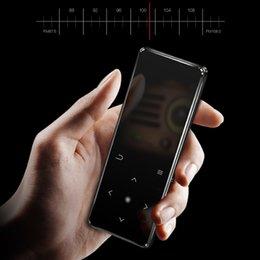 Mp3 Player Green Bluetooth NZ - HOT 2.4 Inch MP3 Bluetooth Player Music Ultra-thin Mini FM Radio Recorder Durable Lossless Sound Drop shipping