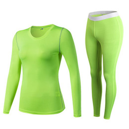 5b22c82260 Brand Women s Tracksuits Running Tights Yoga Sets Fitness Long Sleeves T  Shirt High Waist Gym Leggings Sexy Training Gym Yoga Suits White