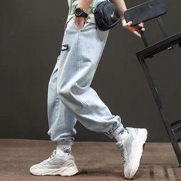 $enCountryForm.capitalKeyWord Australia - Summer new overalls jeans men's country tide brand street loose light blue toe pants ins super fire pants