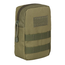Discount molle utility pouch bag - Outdoor Hunting Sports Vest Pouch Accessory Tool Waterproof Oxford Molle Utility Pack Waist Bags