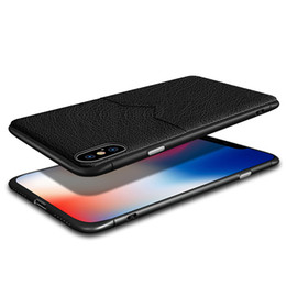 $enCountryForm.capitalKeyWord Australia - Luxury Designer Phone Case for iphone XR XS MAX X 7 8 Plus Samsung S10e Plus Cell Phone Case Credit Card Slots Bag