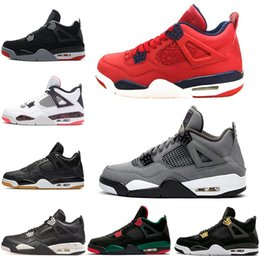 Wholesale 2019 Bred s Men Basketball Shoes What The FIBA Silt Red Cool Grey Black Cat Mens Trainers Athletic Sports Sneakers