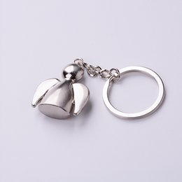 $enCountryForm.capitalKeyWord Australia - 100pcs lot Sunny Dolls keychains lovely angel keyrings woman bag charms car key rings best gift for girl friend key holder