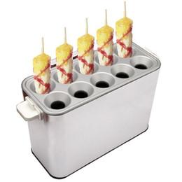 Hot dog maker macHine online shopping - Commercial baked Egg Sausage Maker Hot dogs baking Machine Omelet breakfast Eggs Roll Maker Omelette Master V V
