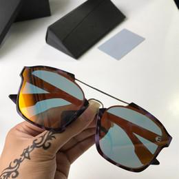 $enCountryForm.capitalKeyWord NZ - 2019 New Brand Designer Top Quality Abstract Full Frame Square Womens Beauty Beach Lifestyle Sunglasses Reflective Glass Lady Eye wear Cheap